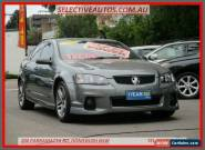 2012 Holden Commodore VE II MY12 SV6 Grey Automatic 6sp A Sedan for Sale