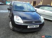 2004 FORD FIESTA FINESSE BLACK, MOT FAILURE, SPARES OR REPAIR for Sale
