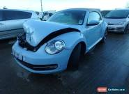 Volkswagen beetle convertible 2014 damaged salvage new shape for Sale