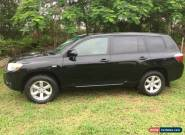 2008 Toyota Kluger Automatic  for Sale