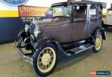 Classic 1929 Ford Model A Sedan for Sale