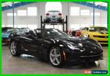 Classic 2015 Chevrolet Corvette 3LT Convertible for Sale