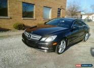 2012 Mercedes-Benz E-Class for Sale
