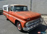 1963 Chevrolet C-10 Custom for Sale