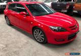 Classic 2008 Mazda 3 MPS Turbo 6spd 141km light dent damage only repairable drives great for Sale