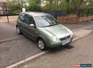 2002 Volkswagen Lupo 1.0 SE PETROL MANUAL MOT 4/20 32000 MILES ONLY!!! FSH for Sale
