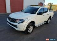 2018 Mitsubishi Triton MQ turbo diesel 4x4 2km IDEAL EXPORT repaired not damaged for Sale