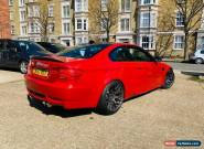 BMW M3 COUPE - RARE MELBOURNE RED - FULL SERVICE HISTORY-LCI UPGRADE M5 M4 M135i for Sale