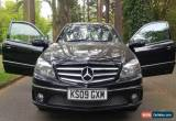 Classic Recently serviced, Mercedes Benz CLC 220 black with black unmarked wheels  for Sale