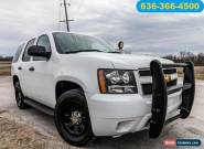 2013 Chevrolet Tahoe 4x2 Police Vehicle for Sale