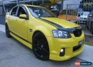 2011 Holden Commodore VE II SV6 Yellow Manual 6sp M Sedan for Sale