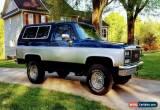 Classic 1983 Chevrolet Blazer GMC Jimmy for Sale