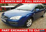 Classic Ford Focus 1.6 Sport-100BHP-BLUE-PETROL for Sale