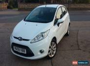 FORD FIESTA ZETEC 1.4 5 DOOR . 96 K MILES. PARKING SENSORS . EXCELLENT DRIVE for Sale