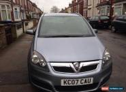 2007 VAUXHALL ZAFIRA ENERGY AUTOMATIC DIESEL SILVER FULL SERVICE HISTORY  MOT for Sale