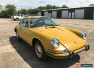 1971 Porsche 911 1-owner 1971 911T coupe project, gold  NO RESERVE! for Sale