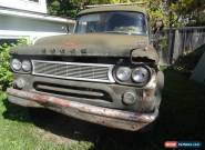 1961 Dodge Power Wagon for Sale