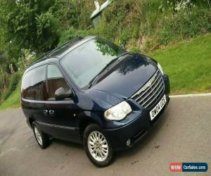 Classic Chrysler Grand Voyager Limited version, full M.O.T for Sale