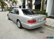 2002 Mercedes-Benz E-Class for Sale