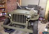 Classic Jeep gpw, ww2, ex army, not willys mb for Sale