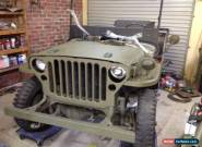 Jeep gpw, ww2, ex army, not willys mb for Sale