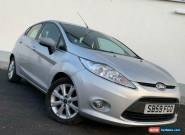 2009 59 FORD FIESTA 1.25 ZETEC HATCHBACK 5DR PETROL MANUAL (133 G/KM, 81 BHP) for Sale