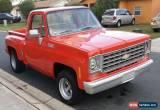 Classic 1976 Chevrolet C-10 Custom Deluxe for Sale