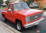 1976 Chevrolet C-10 Custom Deluxe for Sale
