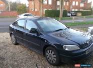2003 VAUXHALL ASTRA ENVOY DUALFUEL BLUE for Sale