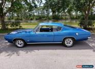 1967 Plymouth Barracuda FAST BACK for Sale