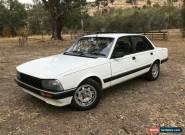 Peugeot 1986 505 GTD Turbo Diesel for Sale