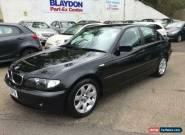 2002 BMW 3 Series 2.0 320d SE Saloon 4dr Diesel Manual (153 g/km, 150 bhp) for Sale