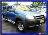 2009 Mazda BT-50 08 Upgrade B3000 DX Blue Automatic 5sp A Dual Cab Pick-up for Sale