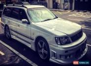 1997 automatic white Nissan Stagea estate.  four wheel drive RS4 in excellent co for Sale