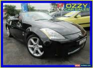 2003 Nissan 350Z Z33 Roadster Black Automatic 5sp A Convertible for Sale