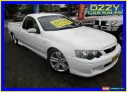 2004 Ford Falcon BA MkII XR6 White Manual 5sp M Utility for Sale