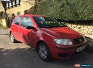 2003 FIAT PUNTO ACTIVE 8V RED for Sale