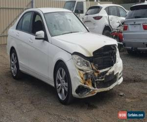 Classic 2013 MERCEDES-BENZ C200 W204 AVANTGARDE 22KMS 1.8L TURBO DAMAGED REPAIRABLE for Sale