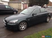2005 BMW 530D AUTO GREEN for Sale