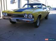 1968 Chevrolet Chevelle 2 door coupe for Sale