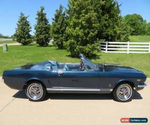 Classic 1966 Ford Mustang GT Convertible for Sale
