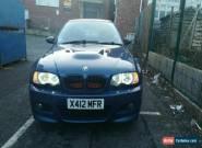BMW E46 M3 Rep  for Sale