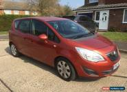 Vauxhall Meriva 1.7 CDTI  Diesel Automatic 2012 for Sale