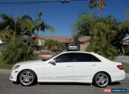 2011 Mercedes-Benz E-Class for Sale