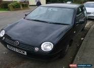 2003 VOLKSWAGEN LUPO E BLACK for Sale