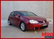 2004 Volkswagen Golf V Comfortline Hatchback 5dr Tiptronic 6sp 2.0i Red A for Sale