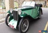 Classic 1934 PA MG 4-seater tourer for Sale