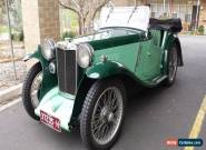 1934 PA MG 4-seater tourer for Sale