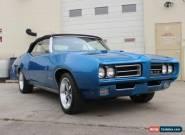 1969 Pontiac GTO Convertible for Sale