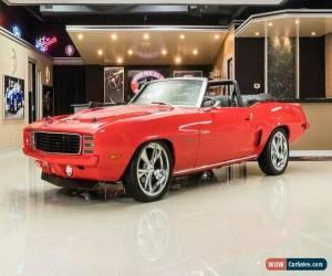 Classic 1969 Chevrolet Camaro Convertible Restomod for Sale